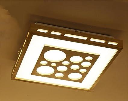 Plafoniere Con Lampade A Risparmio Energetico : Negozio gjm plafoniera intaglio del legno creativo moderno