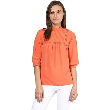 Rare women orange georgette top ep clothing jpg 385x385 Jeans for women  orange 43e95fe0a1cac