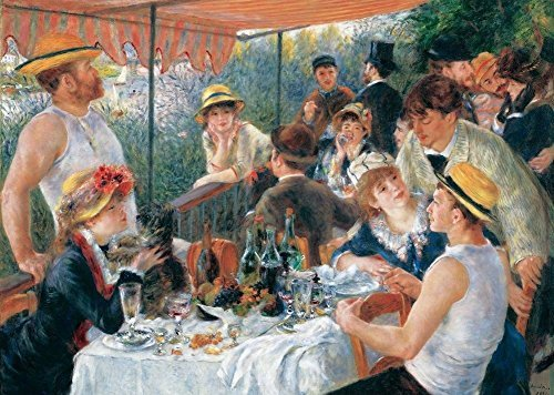 Puzzle MICHELE WILSON - RENOIR - The Boating Party Luncheon - 50 Pieces Puzzle - W61-50 by Puzzle Michèle Wilson