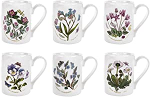 Portmeirion Botanic Garden Tankard Mug Assorted 6 Pack