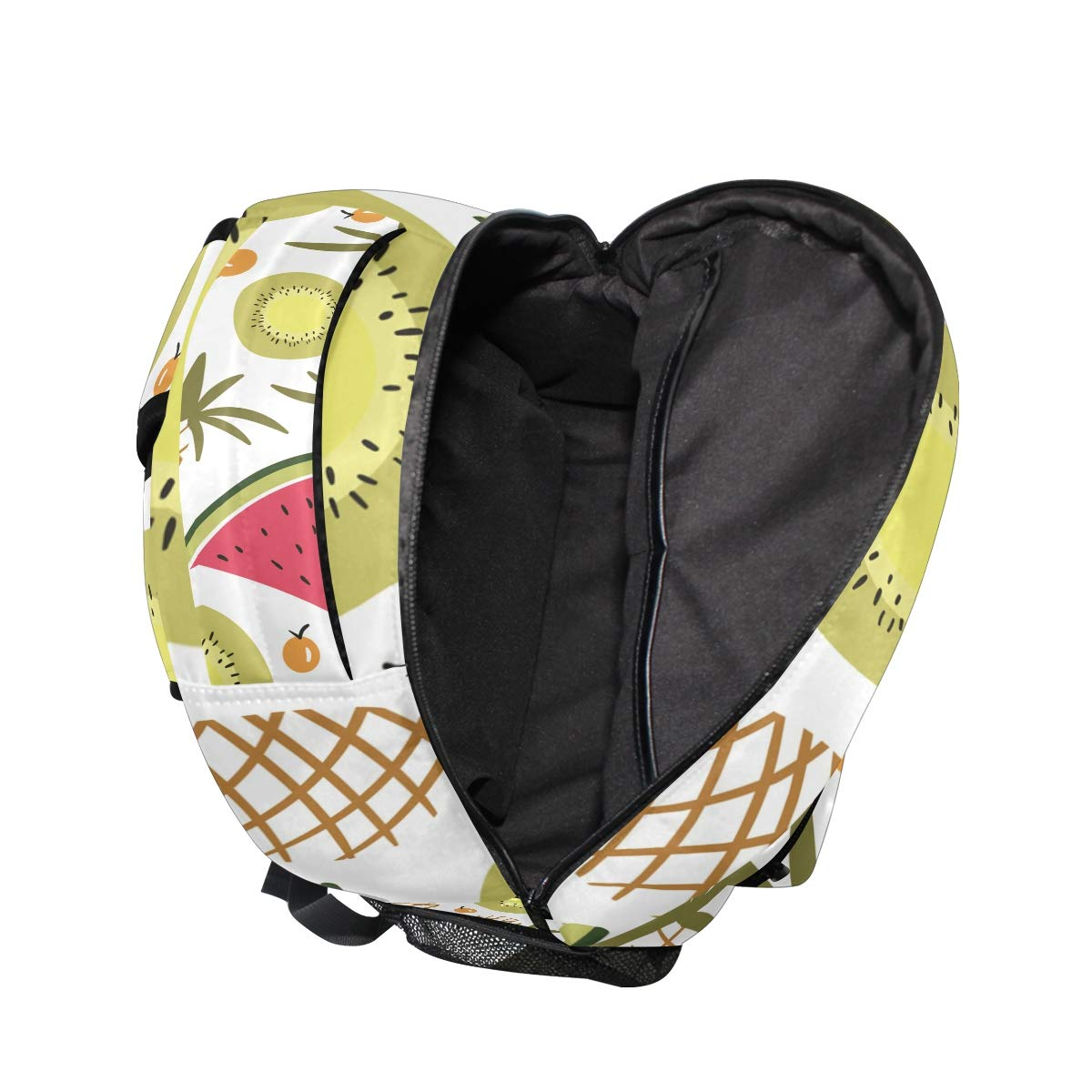 Amazon.com: Cool Funny Fruit Mochila Escolar Bookbag Viaje ...