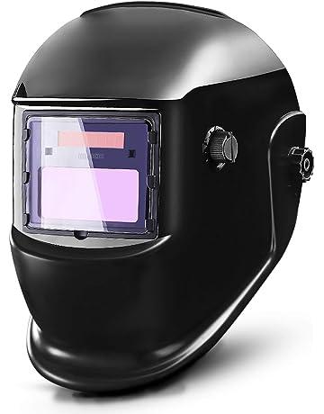 41c84550 DEKOPRO Auto Darkening Solar Welding Helmet ARC TIG MIG Weld Welder Lens  Grinding Mask New Black