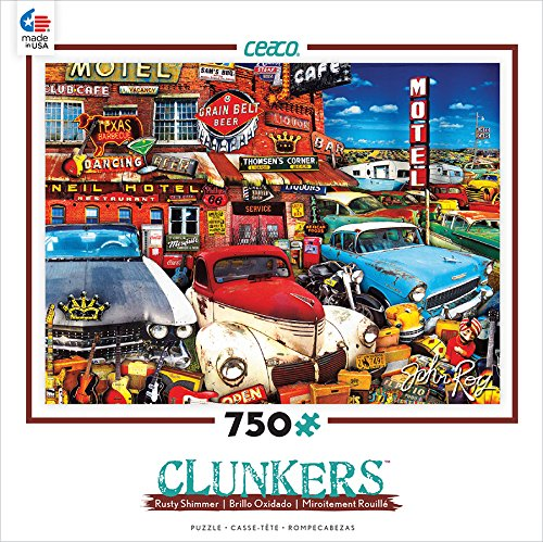 Ceaco Clunkers Cars Guitars Puzzle product image