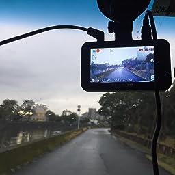 Amazon 最新版 超暗視型ドラレコ ドライブレコーダー 前後カメラ Sony Imx294センサー 32gb Sdカード付き 170度広角 360度回転 駐車監視 常時録画 暗視機能 動体検知 上書き録画 G Sensor Hdr Wdr技術 ドラレコ Led信号機対策 日本語説明書付き ドライブ
