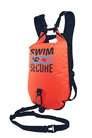 Swim Secure Chillswim Dry Bag Pink Safer Open Water Swimming Clothes//Gear Bag