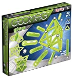 Geomag Glow Kit – 40 Piece Glow in the Dark Magnetic Construction Set