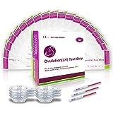 50 Pruebas De Ovulación 20 Miu/Ml, Tiras De Prueba De Ovulación, Tests de Ovulación 50 (Lh) Sensible y Preciso…
