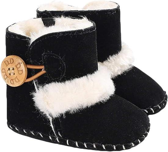 Winter Warm Baby Boots Premium Soft Sole Prewalker Newborn Infant Boy Girl Crib Shoes Snow Boots