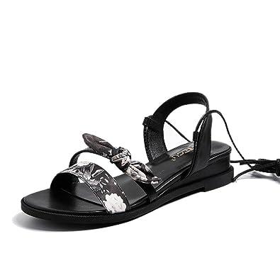 MeiMei Sandalen Weiblichen National-Level mit Einem Base Zu Feld UdCTkl