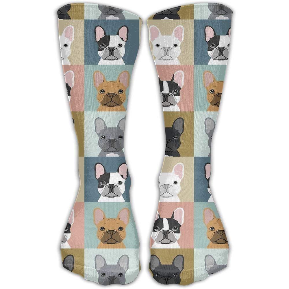 Daisylove Mens French Bulldog Dog Cute Casual Sock Shoe Size 6-10