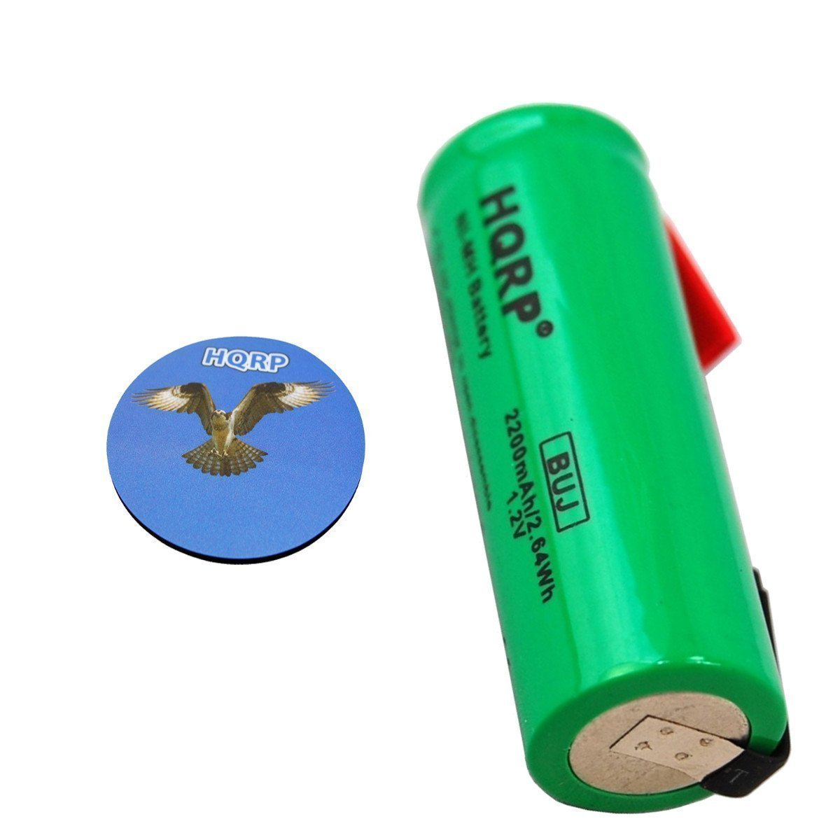 HQRP Batería Recargable para Braun 5596/5597 / 5614/5666 Cepillo de Dientes + HQRP Posavasos: Amazon.es: Electrónica