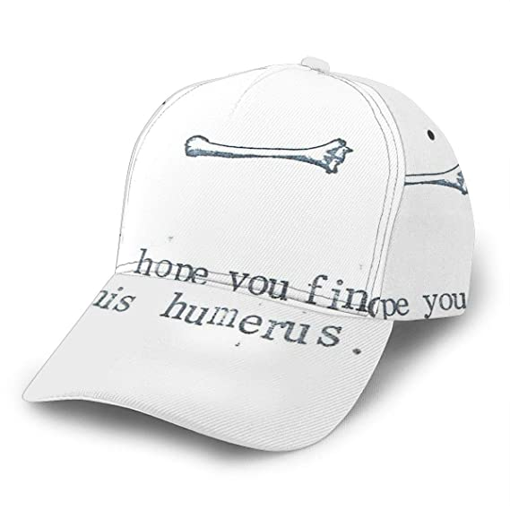 I Hope You Find This Humerus Gorra de béisbol Ajustable para Mujer ...