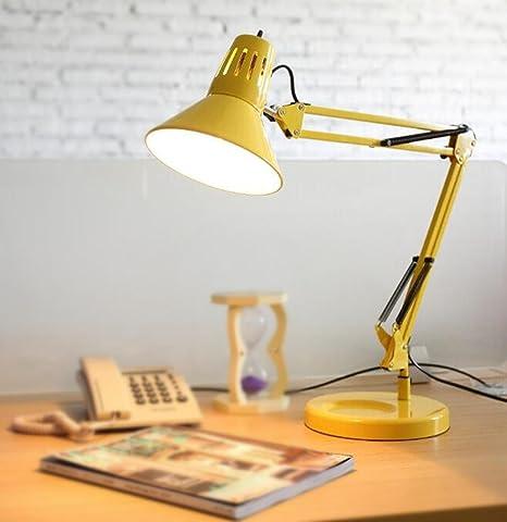XIAOJIA Lámpara Escritorio Mando ajustable dimmer brazo Flexible ...