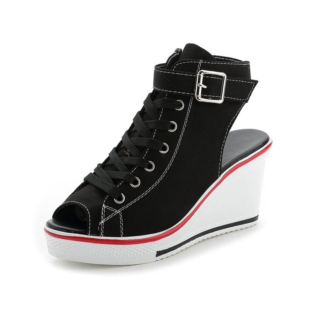 ULLK Sandales pour pour Sandales Femme Noir Noir 640ea0d - latesttechnology.space