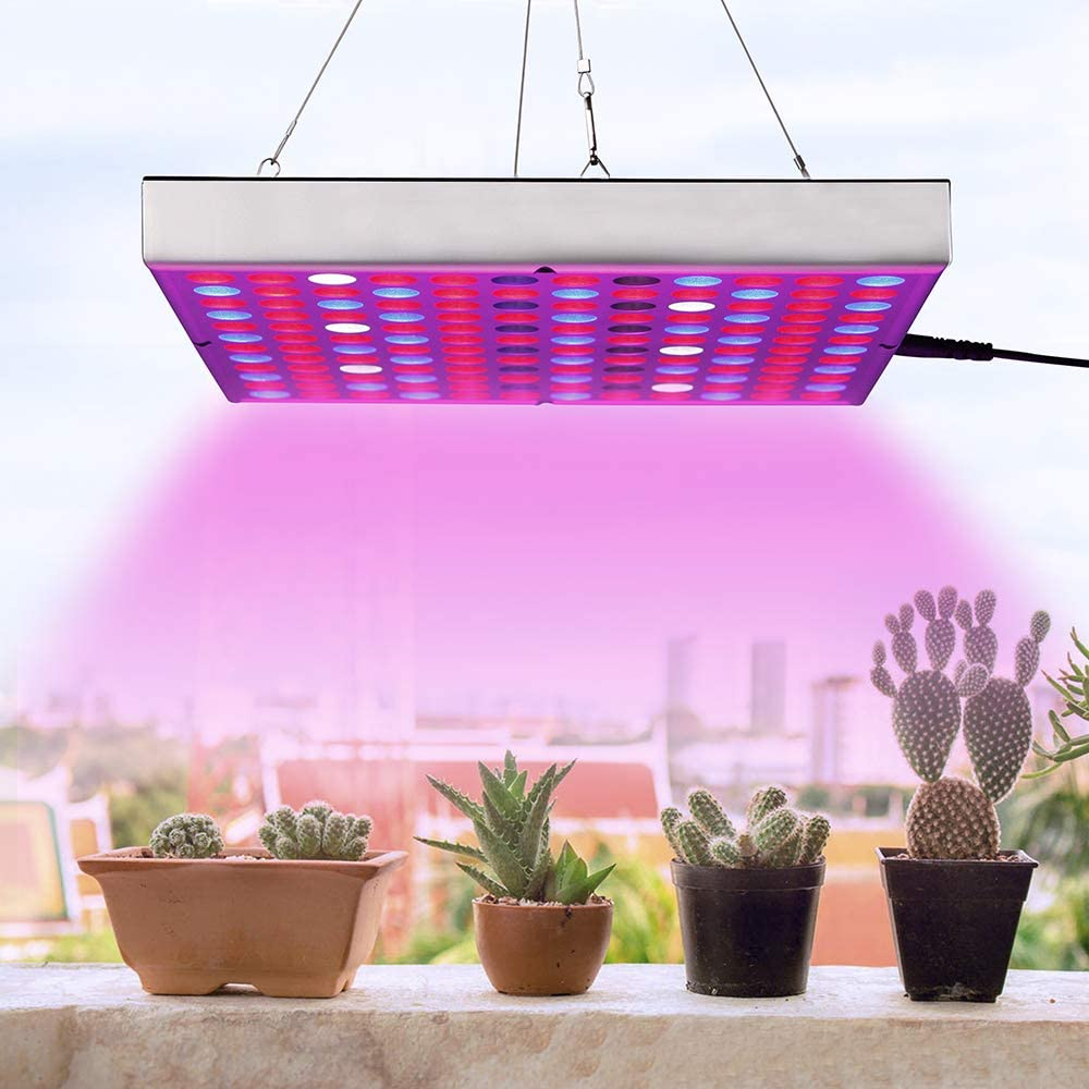 LED Grow Light for Indoor Plants, ABS Super Robust Light Weight Growing Lights, IR UV Full Spectrum Grow Lamp for Micro Grctrum Grow Lamp for Clones, Succulents, Micro Greens, Aquarium Plants 45W
