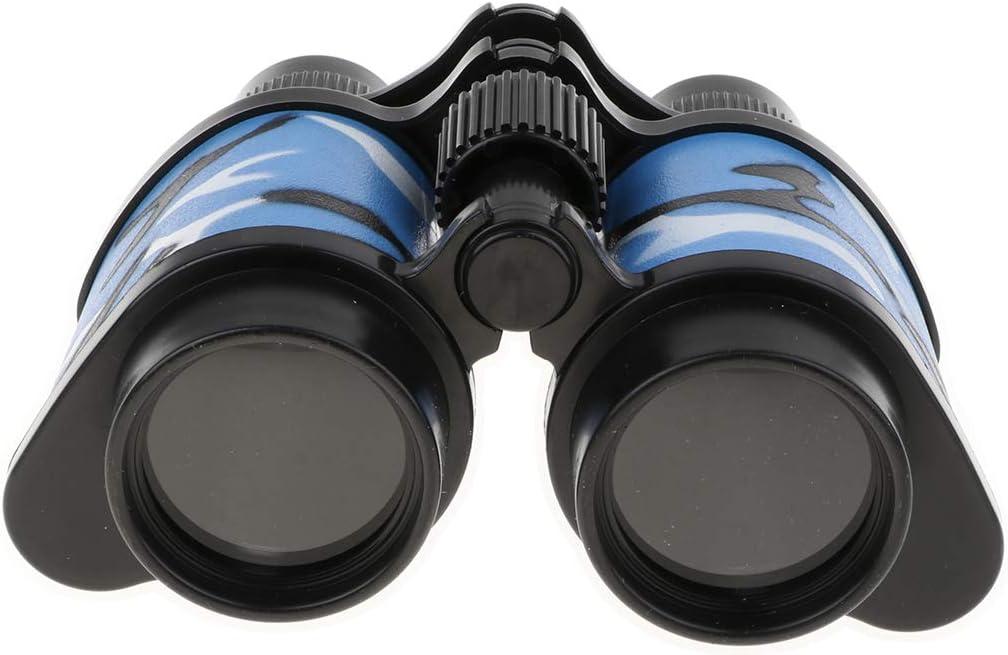 B Blesiya Telescopio Binoculares Prism/áticos Pl/ásticos Juego de Observaci/ón Exploraci/ón al Aire Libre Turismo Senderismo para Ni/ños