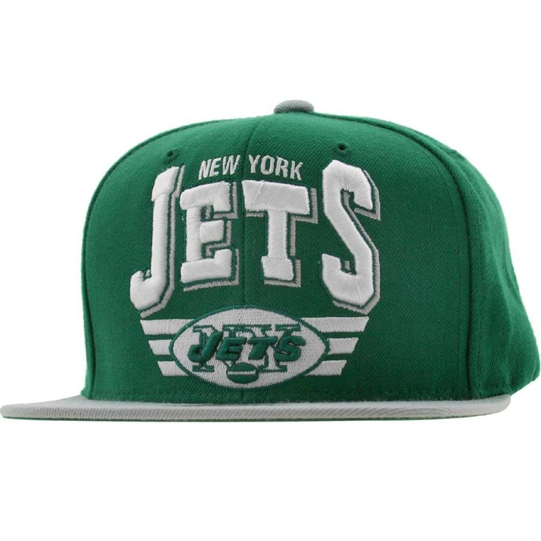 27e83004c9d6d8 Amazon.com: New York Jets The Stadium Arch Vintage Green/Grey Adjustable  Snapback Cap / Hat: Clothing