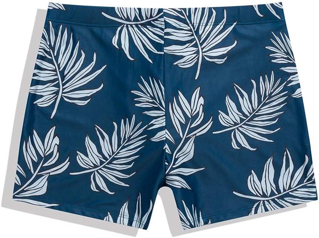 Landscap Men Slim Breathable Trunks Printed Shorts Quick Dry Beach Swimwear Underwear Swim Bathing Suit