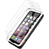 [3 PACK] iPhone 6/iPhone 6S Screen Protector, LK [Tempered Glass][Case Friendly] DoubleDefence Technology [Alignment Frame Easy Installation] [3D Touch] with Lifetime Replacement Warranty