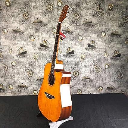 ERCZYO Caoba acústica gente guitarra acústica Spruce guitarra ...