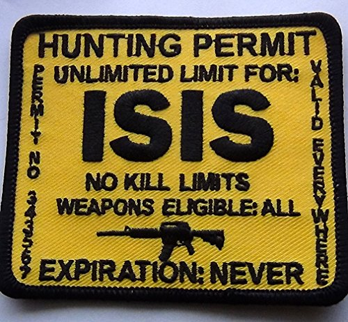 Terrorist ISIS Hunting Permit Patch 3.5