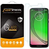 (2 Pack) Supershieldz for Motorola (Moto G7 Play) Tempered Glass Screen Protector, 0.33mm, Anti Scratch, Bubble Free