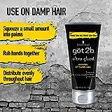 Got2b Ultra Glued Invincible Styling Hair Gel, 6