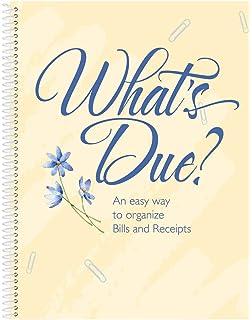 miles kimball whats due bill organizer book - Bills Organizer