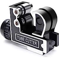 Cortatubos GOCHANGE Cortador de Tubo Ajustable de Acero Tipo de Cojinete con Diámetro entre 3-28mm para Cortar Acero…