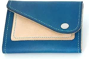 جلد ازرق للنساء - حقائب صغيرة للنقود المعدنية