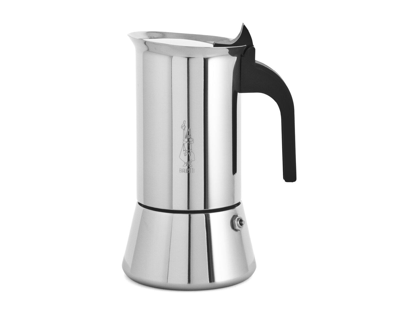 Bialetti Elegance Venus Induction Stovetop Coffee Maker 6-cups [ Italian Import ]