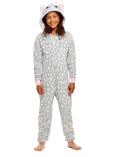 03b0fa8d91 Jellifish Kids Pijamas de los niños - los Animales de Peluche con  Cremallera Onesie Manta de Cama para Chicas  Amazon.es  Ropa y accesorios