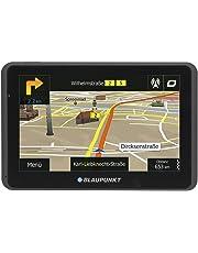 "Blaupunkt TravelPilot 55 Active EU LMU Fijo 5"" Pantalla táctil 181g Negro navegador - Navegador GPS (Alemán, Inglés, Interno, Toda Europa, 12,7 cm (5""), 800 x 480 Pixeles, Flash)"