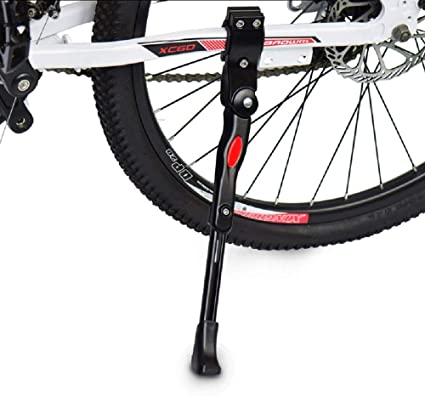 "Adjustable Bike Bicycle Kickstand Aluminium Alloy Side Kick Stand fits 24/""-29/"""