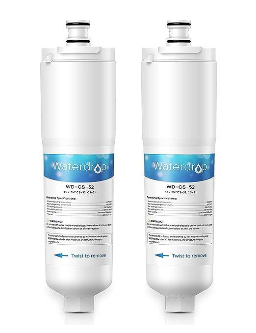 Waterdrop CS-52 Filtro de Agua para Nevera/frigorífico - 3M Cuno ...