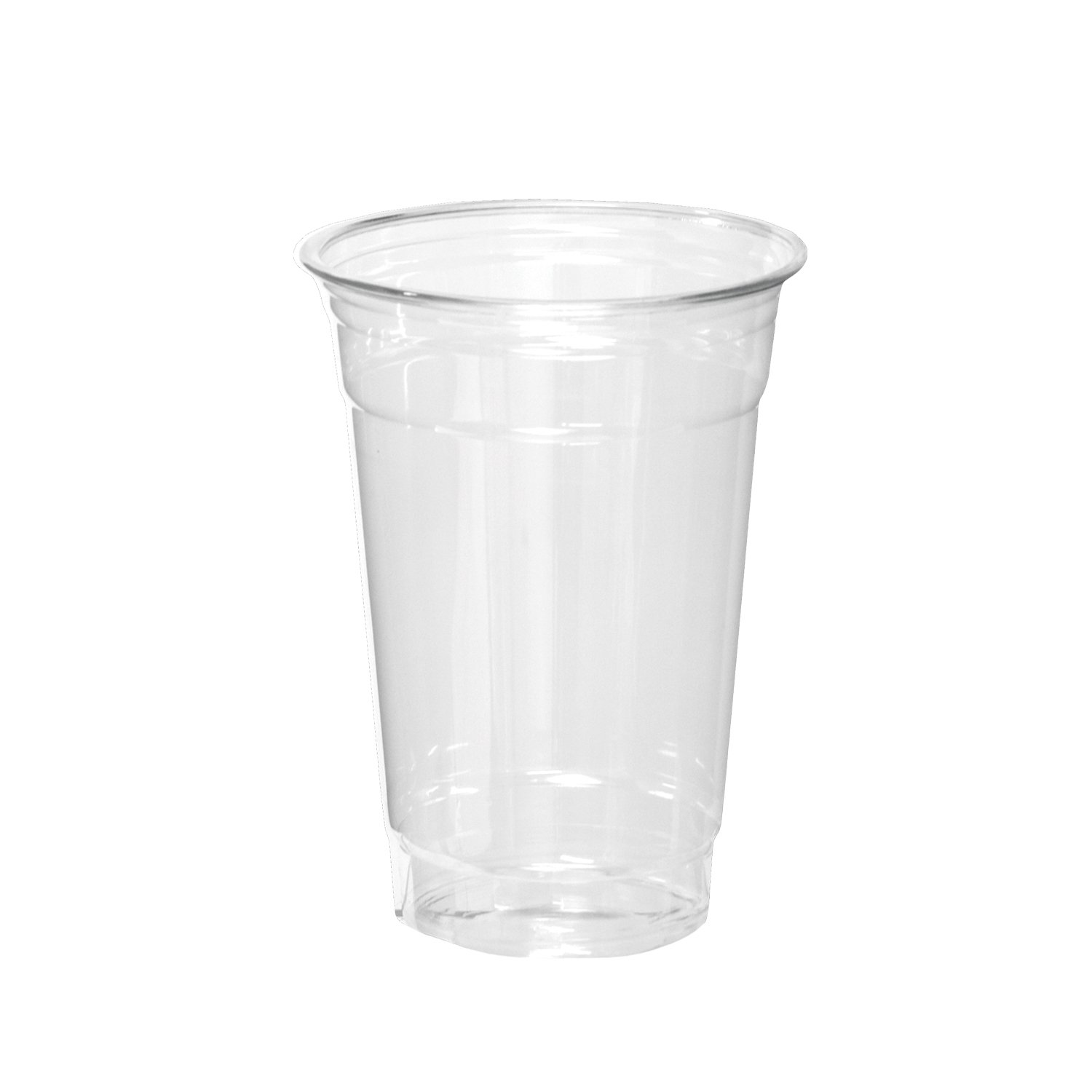 Party Essentials 20 Count Soft Plastic Party Cups, 16-Ounce, Clear