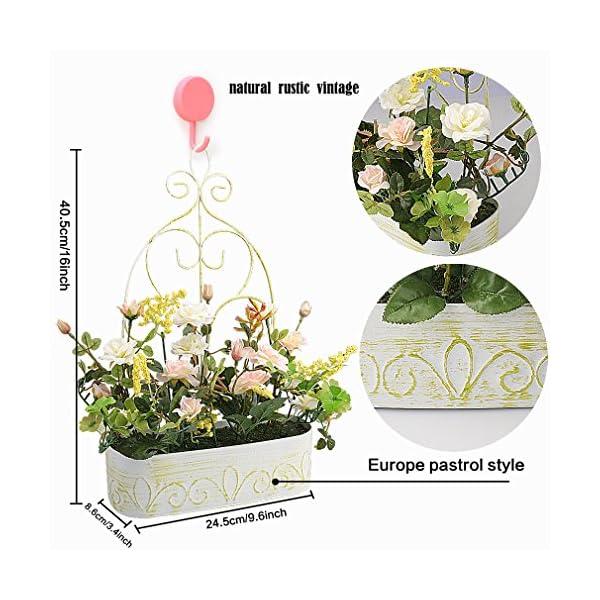 RERXN-Europern-Pastoral-Artificial-Flower-in-Iron-Basket-Silk-Rose-with-Hanging-Rack-Indoor-Outdoor-Home-Wedding-Decor