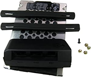 Toughstone Replacement New Caddy Cover for Thinkpad T430 HDD Caddy + Rubber Rail + Cover+ Screw