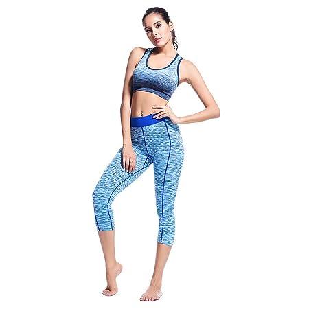 Conjunto de Yoga Deportivo para Mujer Yoga Fitness Set ...