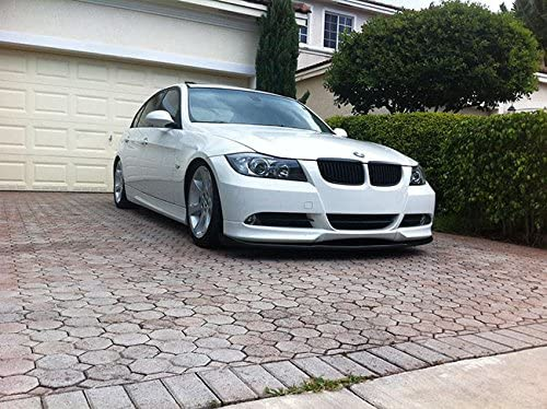 OriginalEuro Euro Front Bumper Spoiler Lip Chin Valance Splitter Corner for BMW 3 Series E90 E91