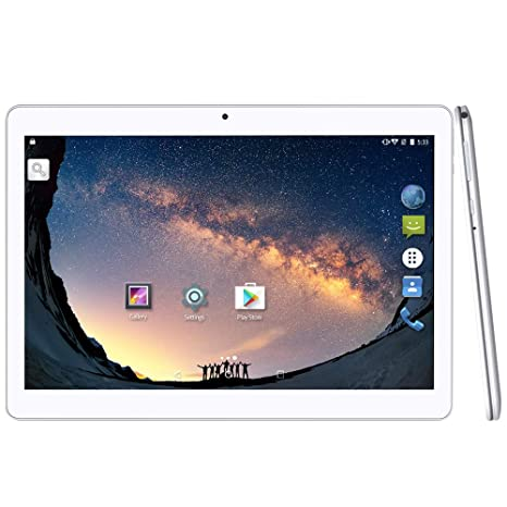 YUNTAB Tablet 3 G 10.1 Pulgadas Quad Core Android 5.1 Quad Core 1,3 GHz IPS Dos SIM Tarjetas cámara Dual 16 GB ROM GPS WiFi Tablet para Internet y ...