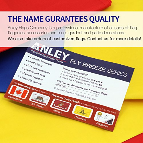 Anley Fly Breeze 3x5 Foot POW MIA Flag - Vivid Color and UV Fade Resistant - Canvas Header and Double Stitched - You are Not Forgotten Prisoner of War Flags Polyester with Brass Grommets