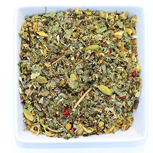 Tealyra - Tranquil Dream - Chamomile & Honeybush - Calming & Relax Tea - Herbal Loose Leaf Tea - Caffeine Free - Organic (4oz / 110g)