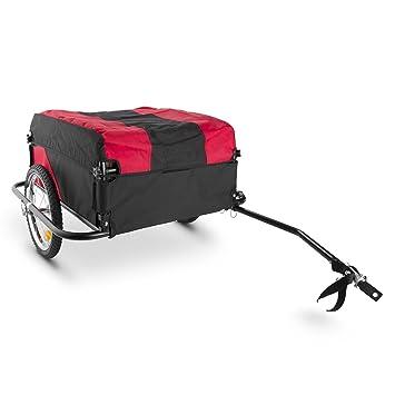 Oneconcept DURAMAXX Mountee Remolque para Bicicletas (Desmontable, Capacidad 130 litros, Carga 60 kg