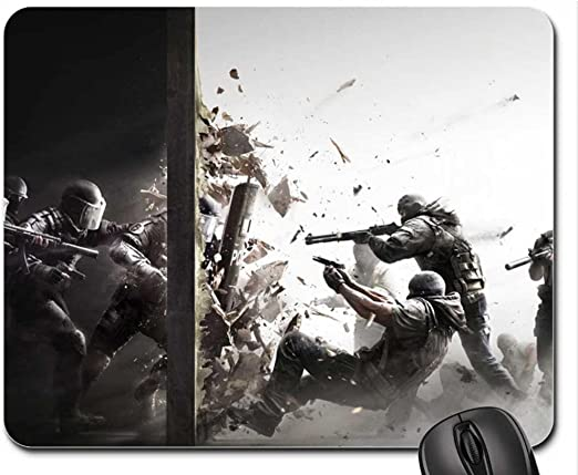 Rainbow Six Siege Mouse Pad, Mousepad (10.2 x 8.3 x 0.12 inches ...