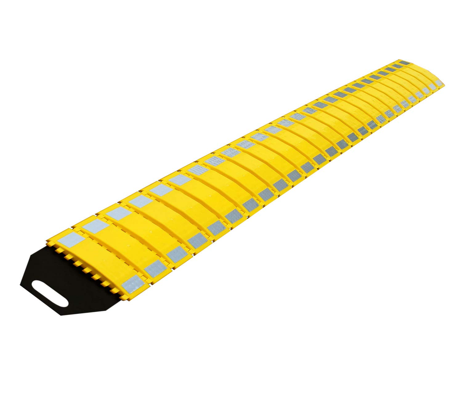 RK Safety RK-PSH10 PU Portable Folding Traffic Control Calming Speed Bump, 10' Long x 9-3/4 Wide