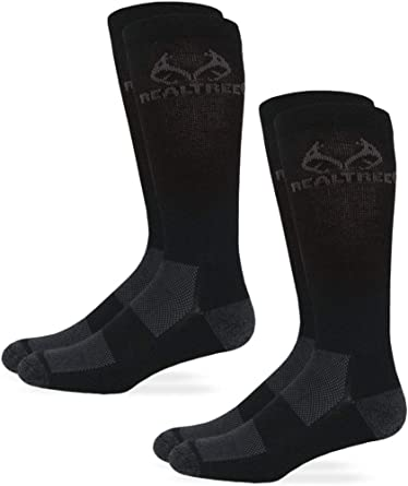 Realtree mens Ultra-dri Casual Crew Sock