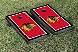 Chicago Blackhawks NHL Regulation Cornhole Game Set Border Version