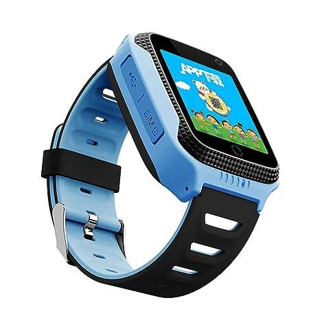CQ Q528 GPS - Reloj Inteligente con Linterna para cámara, Reloj de ...