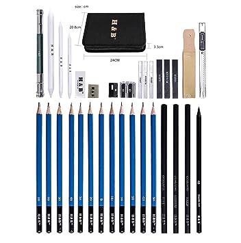 Gaorb 32 Juego de lápices para Pintar, Kit de bocetos ...